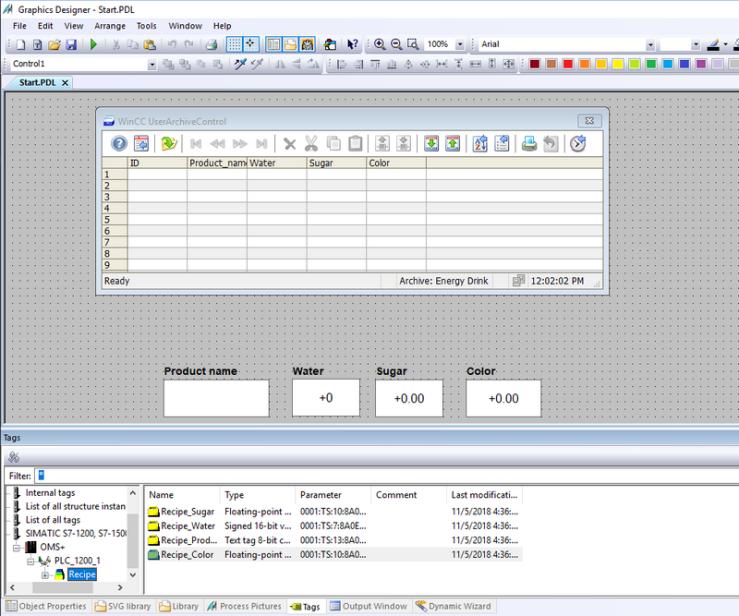 การใช้งาน Recipe บน WinCC 7 x – Automation 360